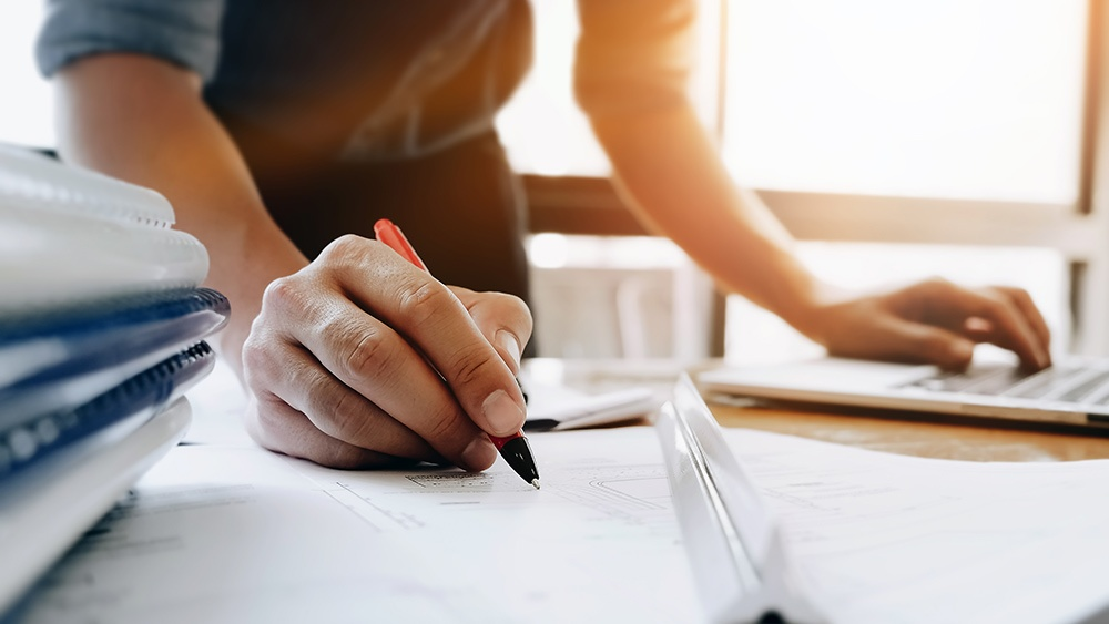 desk-writing